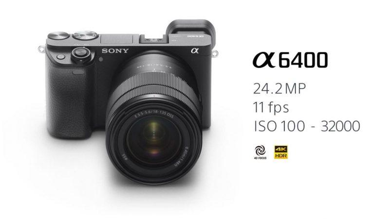 Sony α6400 Dilancarkan Dengan Sistem Autofokus Terpantas Di Dunia