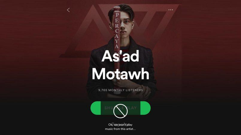 Spotify Menguji Fungsi Yang Membenarkan Pengguna Menghalang Lagu Dari Artis Tertentu