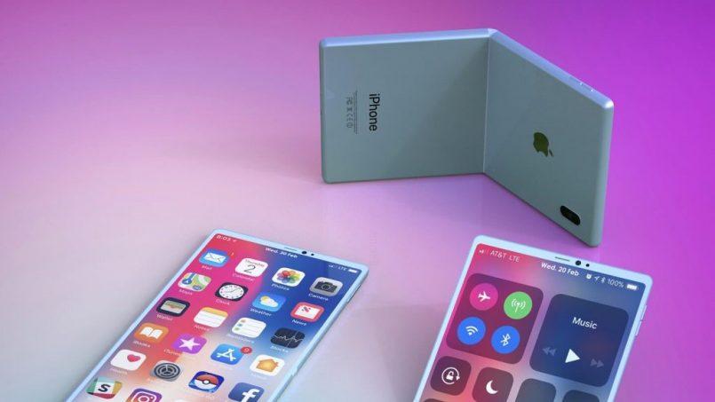 Apple Mempatenkan Teknologi Untuk Melindungi Skrin Peranti Boleh Lipat Daripada Rosak
