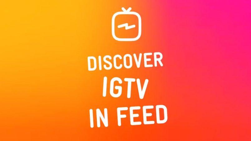 Video Pratonton IGTV Kini Dipaparkan Pada Susur Masa Instagram