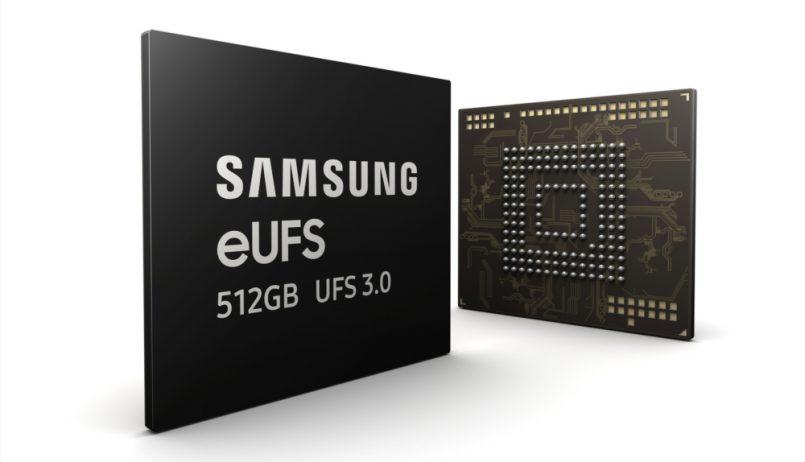 Samsung 512GB UFS 3.0