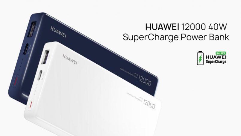 Huawei Melancarkan Powerbank Dengan Sokongan Pengecasan Pantas 40W