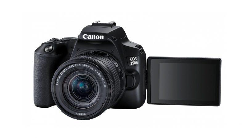 Canon Memperkenalkan EOS 250D – Hadir Dengan Skrin Berputar & Rakaman Video 4K
