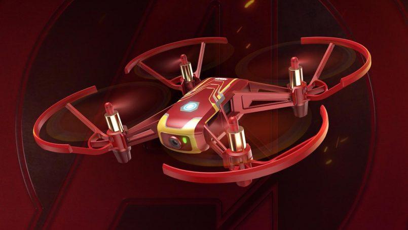 Dron DJI Tello Edisi Iron Man Dilancarkan Sempena Avengers End Game