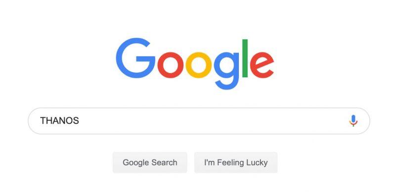 Ini Ialah Easter Egg Google Sempena Filem Avengers End Game