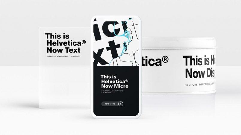 Monotype Melancarkan Muka Taip Helvetica Now Untuk Dunia Digital