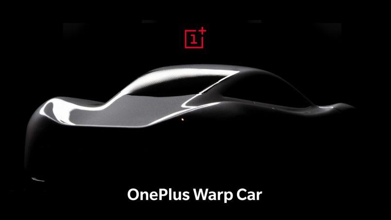 (April Fool) Warp Car Adalah Kereta Elektrik Dari OnePlus Yang Dicas Melalui Warp Charge