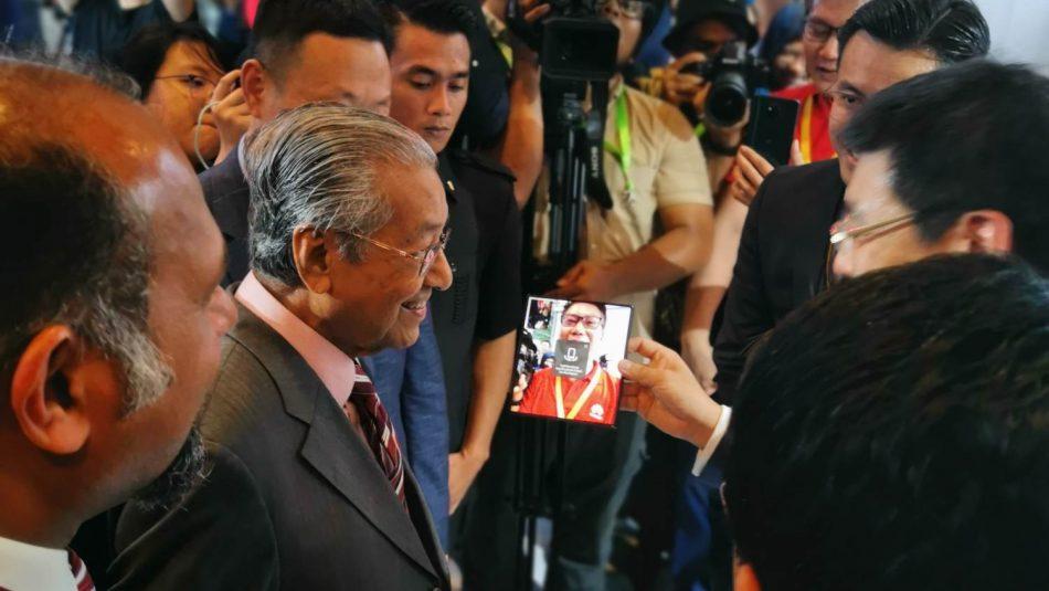 Mahathir 5G Mate X