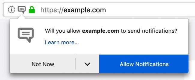 Firefox Nightly Notifikasi