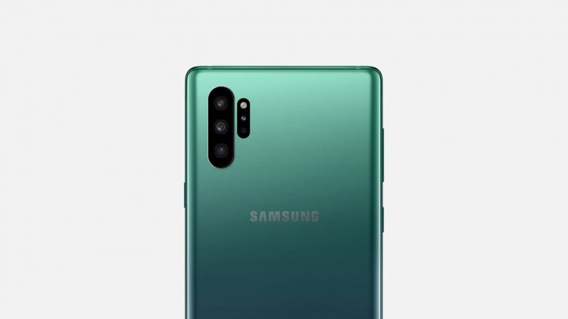 Konsep Rekaan Samsung Galaxy Note 10 Dengan Posisi Kamera Baharu Diperlihatkan