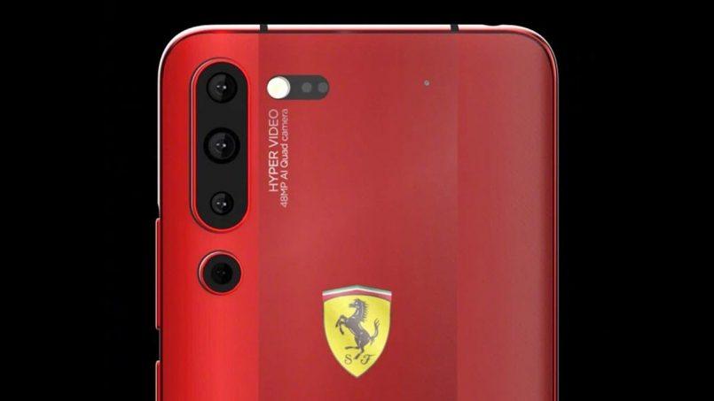 Rekaan Lenovo Z6 Pro Ferrari Edition Diperlihatkan