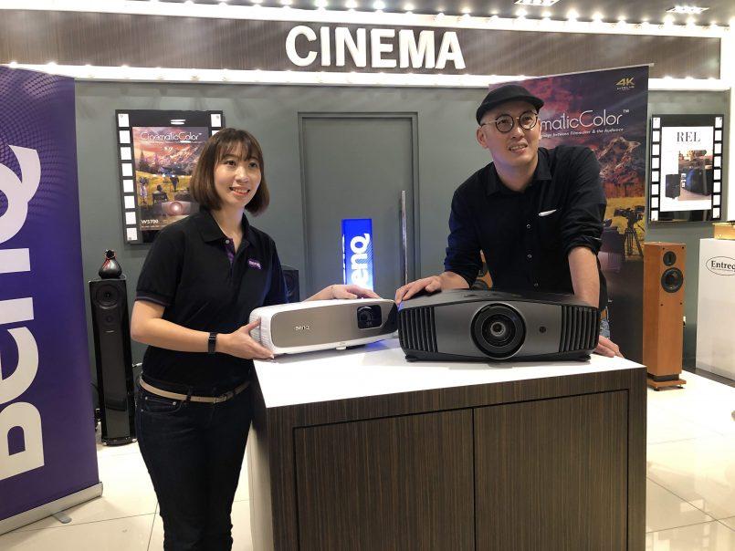 BenQ Memperkenalkan Dua Projektor 4K Yang Hadir Dengan Sokongan HDR Dan Ruang Warna DCI-P3 – BenQ W2700 Dan W5700
