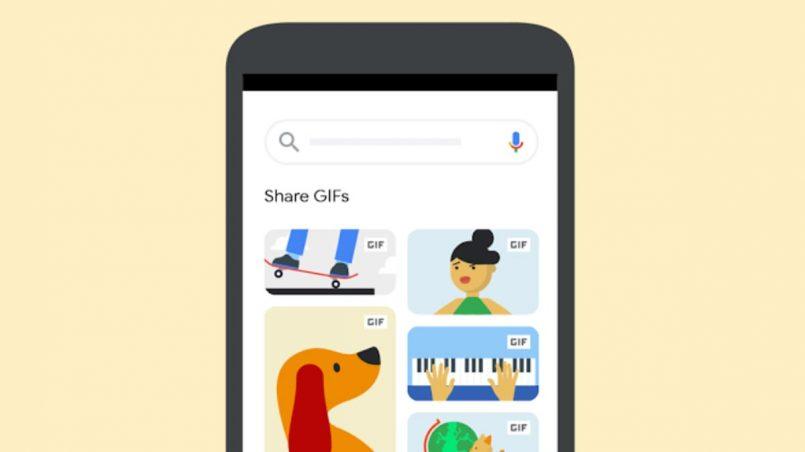 Google Images Kini Memudahkan Lagi Perkongsian GIF Beranimasi