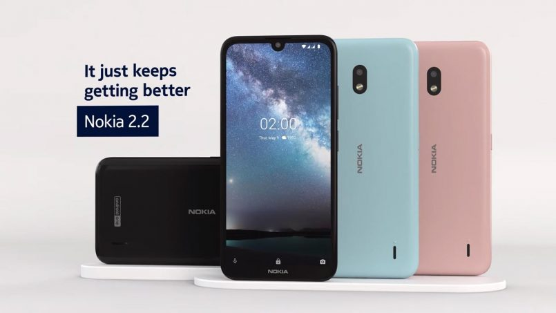 Nokia 2.2 Menerima Kemaskini Android 11