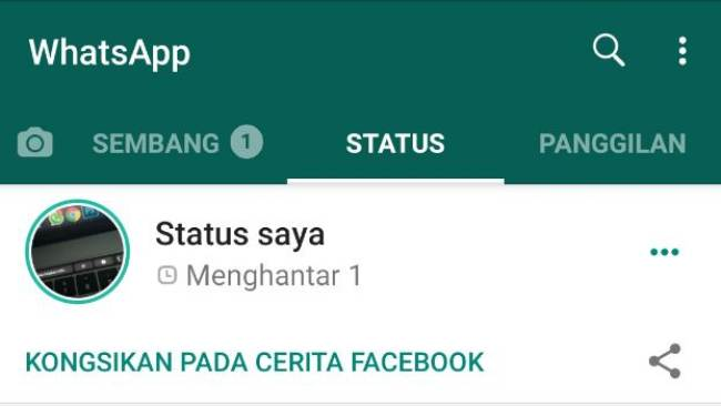 WhatsApp Status Facebook