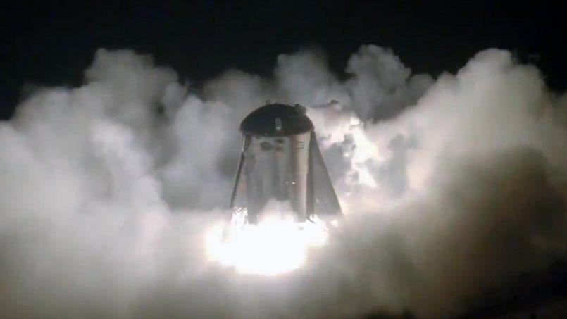 Prototaip Enjin Kapal Angkasa Starship Berjaya Melakukan Ujian Pertama