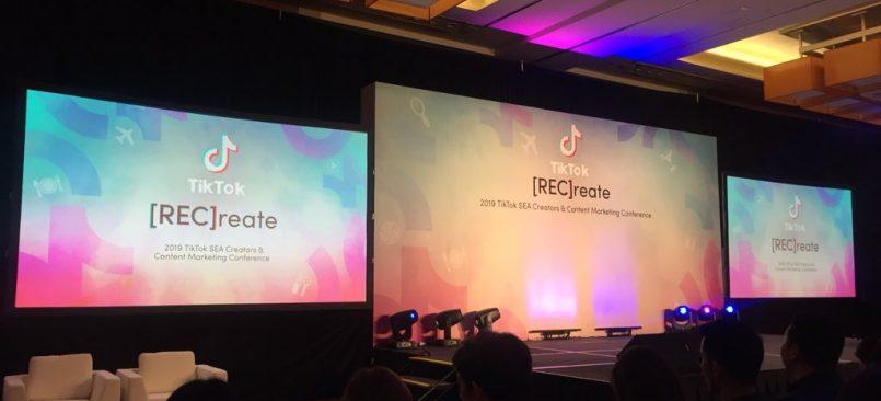 Acara [REC]reate TikTok Menghimpunkan 300 Pencipta Kandungan, Rakan Kongsi Industri Dan Pemasar Asia Tenggara Bagi Perkongsian Idea Kreatif