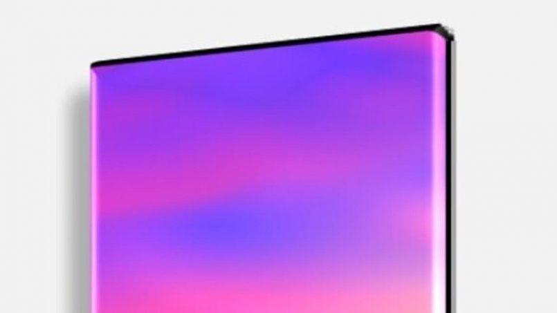 Imej Pengolokan Vivo NEX 2 Menunjukkan Skrin Pada Sisi Peranti