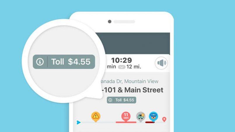 Waze Kini Menyokong Paparan Kadar Tol Di Dalam Aplikasi