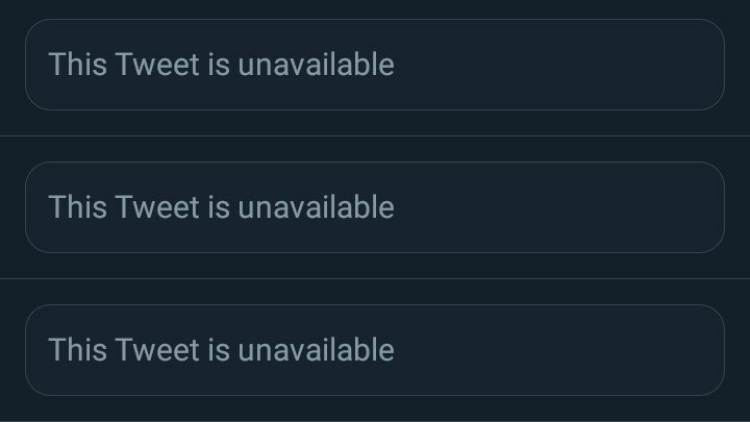 Tweet Hilang
