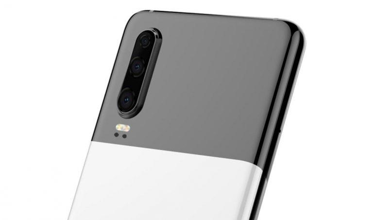 Huawei Mempatenkan Huawei P30 Dengan Rekaan Panel Dwi-Tona Seperti Pixel