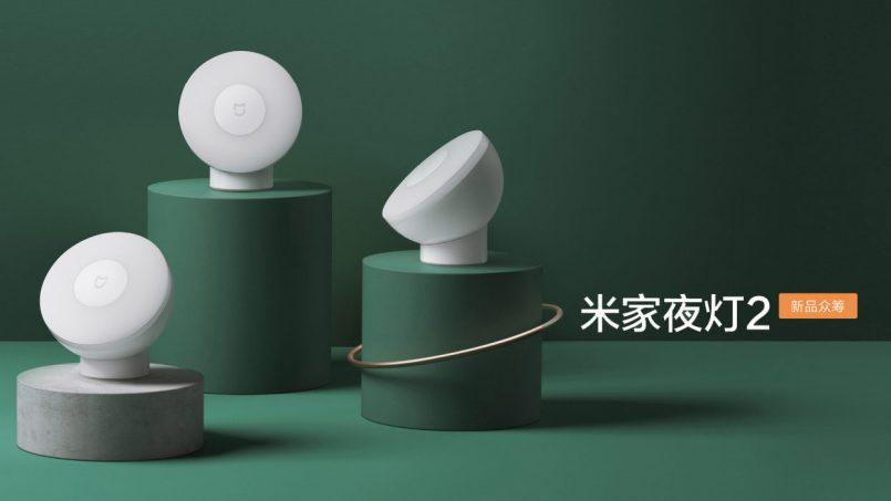 Xiaomi Memperlihatkan Mijia Night Light 2 – Lampu Tidur Mudah Alih Magnetik Boleh Putar