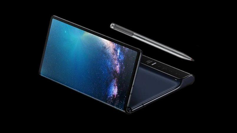 Huawei Mempatenkan Rekaan Mate X Dengan Stylus Terbina