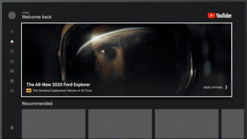 Google Memperkenalkan Sokongan Iklan Auto-Main Pada YouTube Untuk Android TV