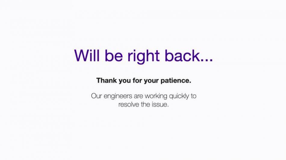 Yahoo! Down