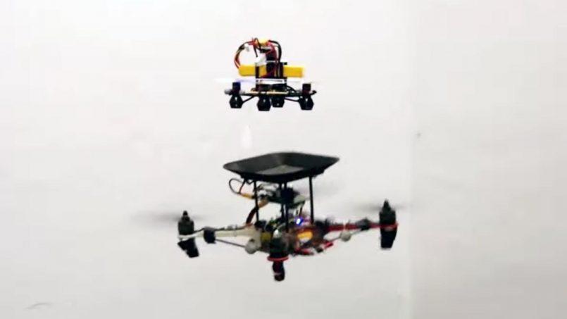 Bateri Terbang Dibangunkan Untuk Mengecas Dron Ketika Di Udara