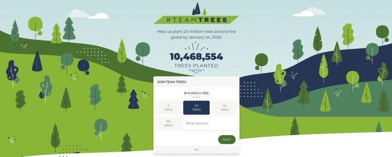 Elon Musk Menderma $1 Juta Untuk Project TeamTrees – Projek Menanam 20 Juta Pokok Di Seluruh Dunia