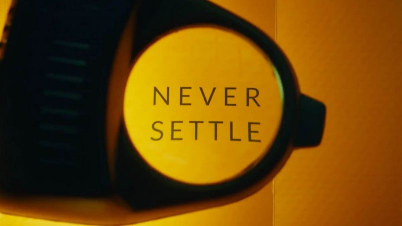 OnePlus Never Settle