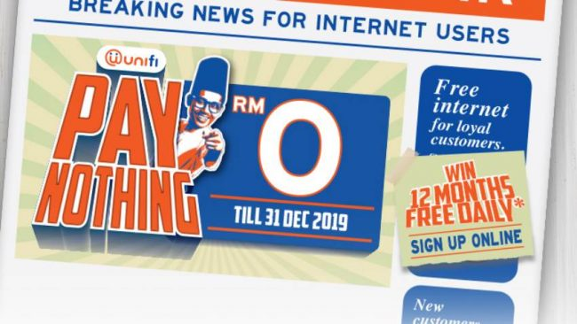 Unifi Pay Nothing