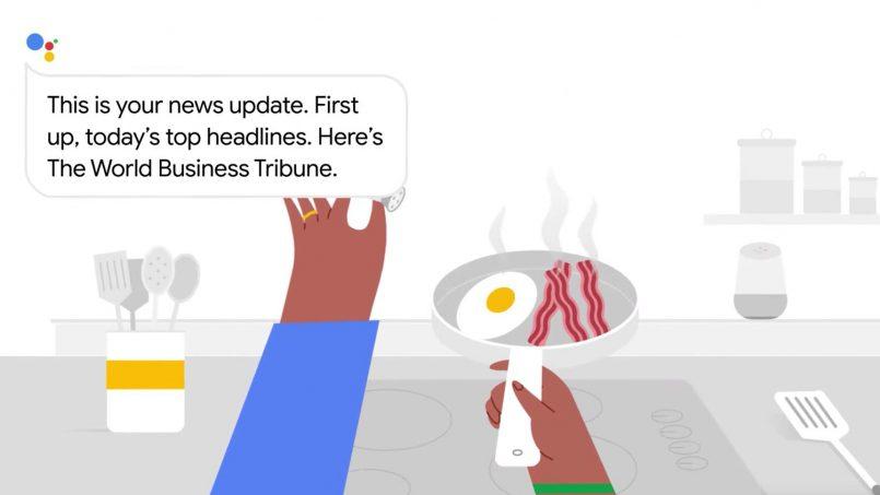 Google Your News Update Memainkan Berita Yang Paling Sesuai Untuk Pengguna Menerusi Assistant