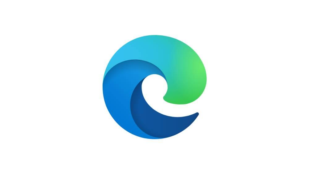 edge logo - Microsoft Edge Berasaskan Chromium Kini Diedarkan Secara Meluas Kepada Semua Pengguna Windows 10