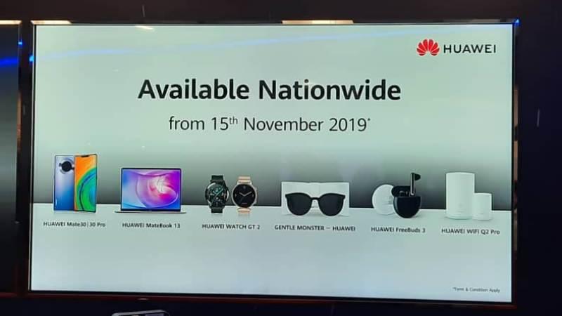 Huawei Produk Baru 15 November