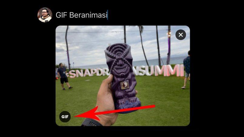 Twitter Untuk iOS Kini Menyokong Muat Naik Live Photos Dalam Bentuk GIF Beranimasi