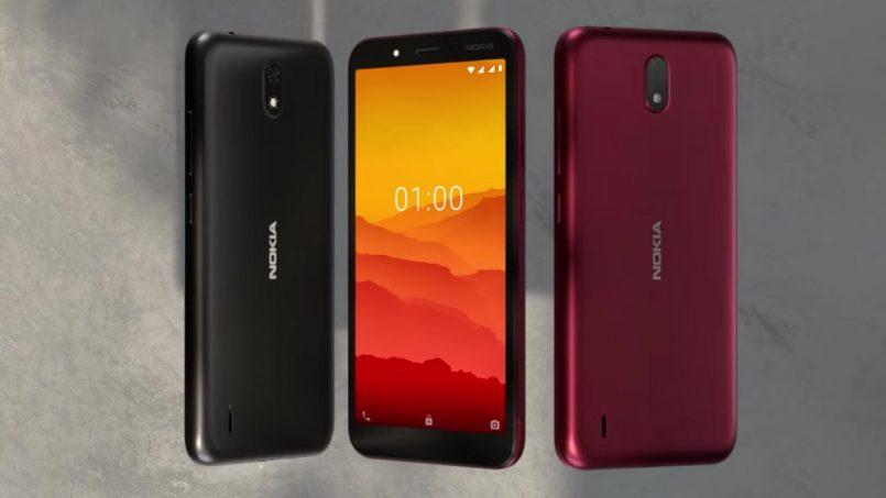 Nokia C1 Diumumkan – Peranti Android 9 Go Mampu Milik