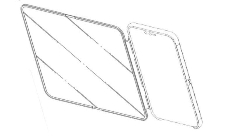 LG Mempatenkan Kerangka Pelindung Skrin Dengan Skrin Boleh-Lipat Terbina