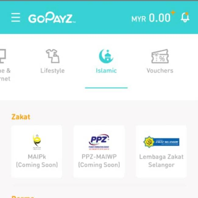 GoPayz Islamik