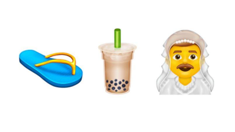 Selipar Jepun Dan Teh Boba Antara 62 Emoji Baharu Diumumkan Oleh Unicode Untuk Tahun 2020
