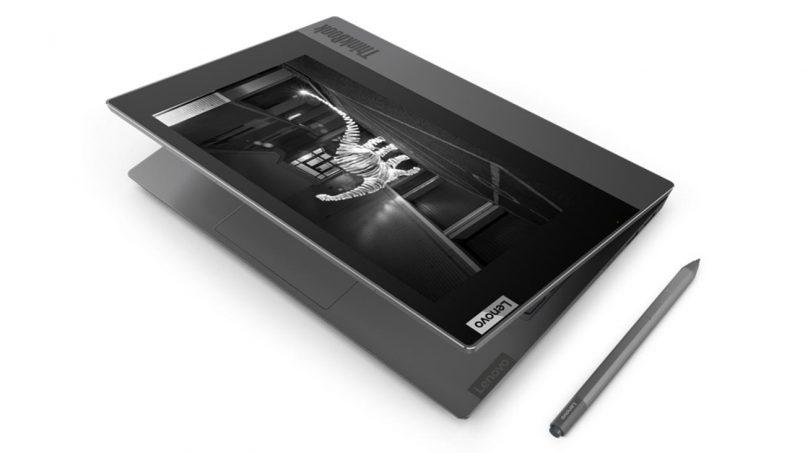 Lenovo ThinkBook Plus Dilengkapi Skrin E-Ink Pada Bahagian Penutup