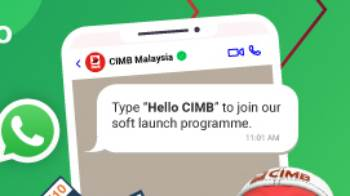 CIMB WhatsApp