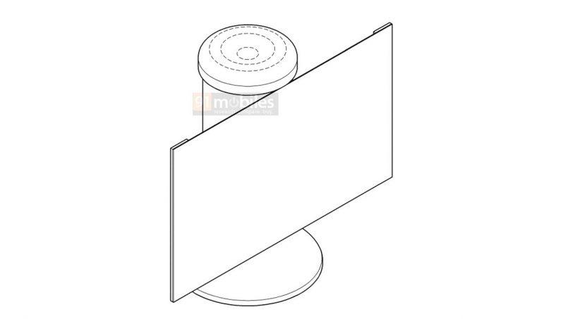 Samsung Mempatenkan Speaker Pintar Dengan Skrin Boleh Digulung