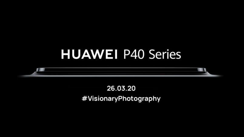 Huawei P40 Akan Dilancarkan Secara Atas Talian Pada 26 Mac Ini