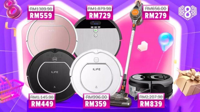 Robot Vakum ILIFE Ditawarkan Pada Harga Serendah RM359 Pada 27 Mac Ini