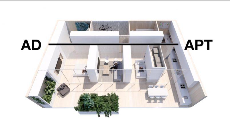 Rekaan Apartmen Khusus Untuk Bekerja Dari Rumah Dihasilkan Untuk Norma Baru Pasca Wabak