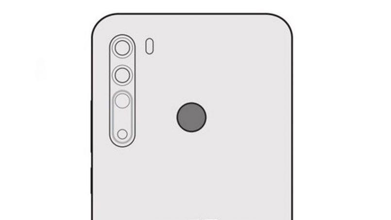 Imej Lakaran HTC Desire 20 Pro Tertiris – Kuad Kamera Dan Pengimbas Cap Jari Belakang