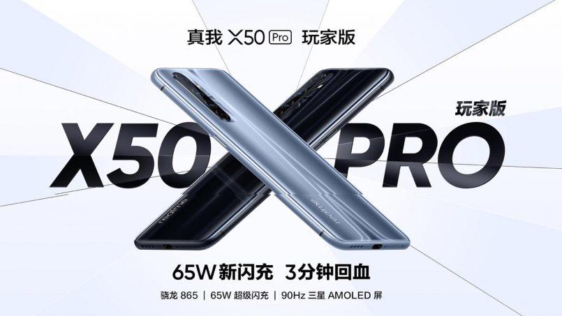 Realme X50 Pro Player Dilancarkan Dengan Sistem Penyejukan Grafit