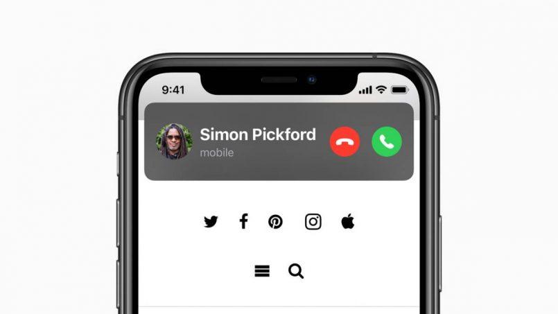 iOS14 Call Panggilan